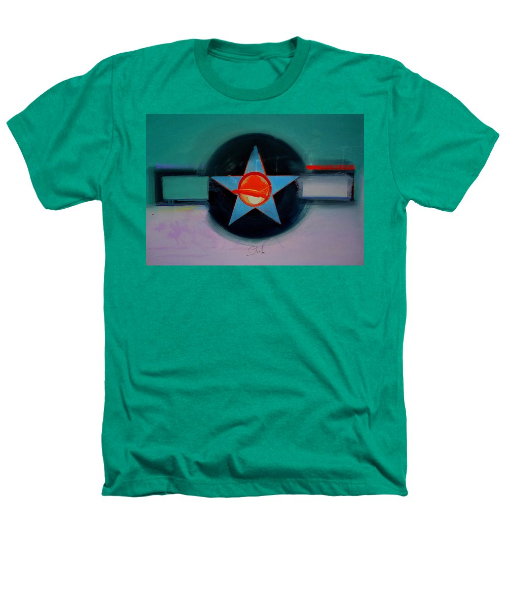 Star Heathers T-Shirt featuring the painting American Landscape by Charles Stuart