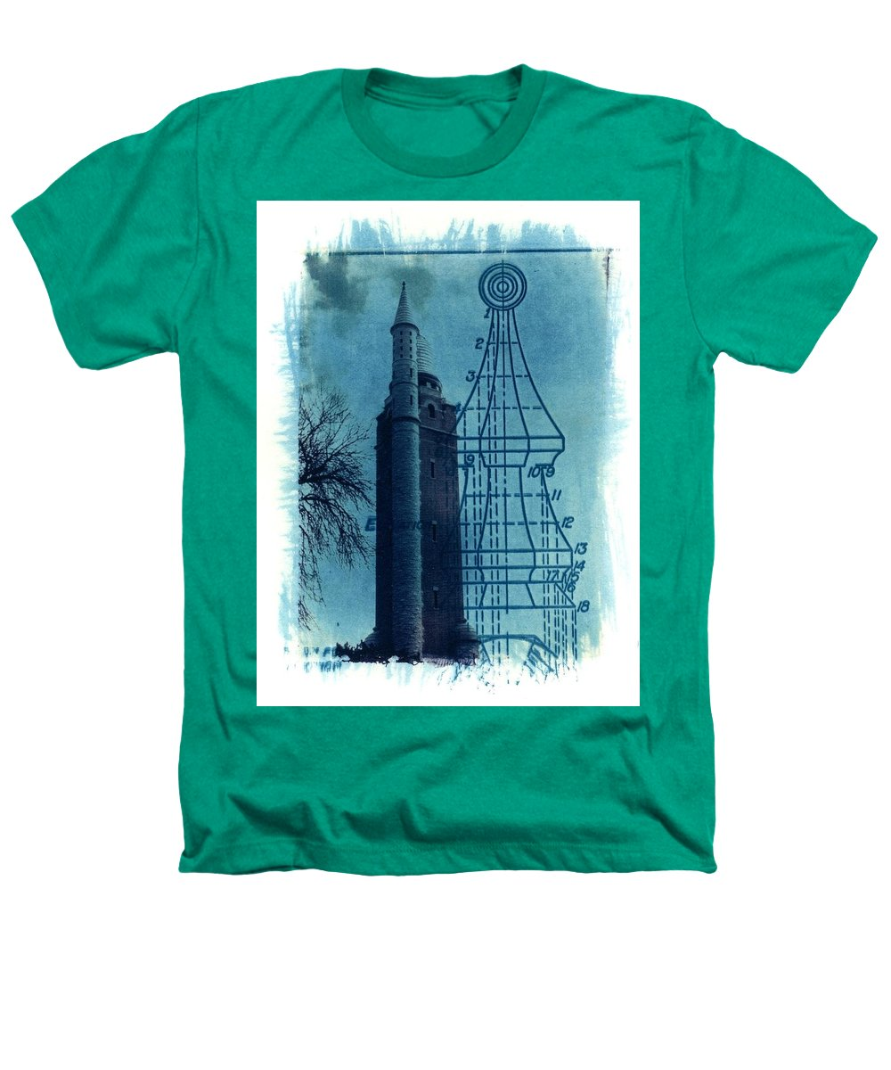 Alternative Process Photography Heathers T-Shirt featuring the photograph Compton Blueprint by Jane Linders