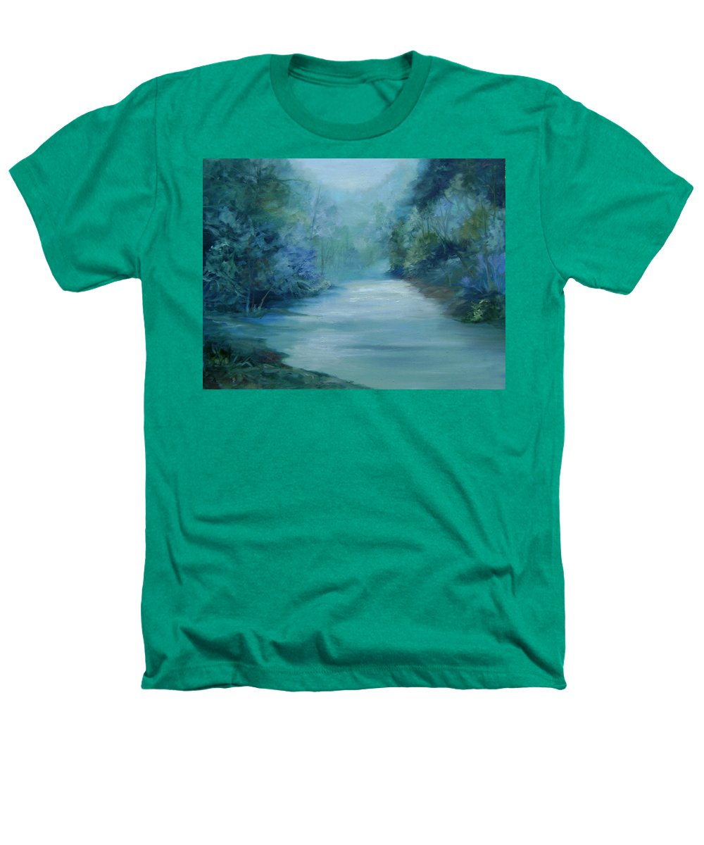 Burton River Georgia Heathers T-Shirt featuring the painting Dreamsome by Ginger Concepcion