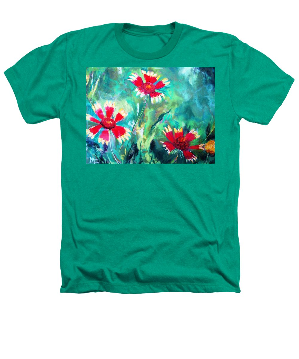 Flowers Heathers T-Shirt featuring the painting East Texas Wild Flowers by Melinda Etzold