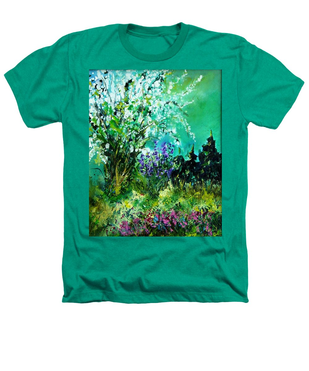 Tree Heathers T-Shirt featuring the painting Seringa by Pol Ledent