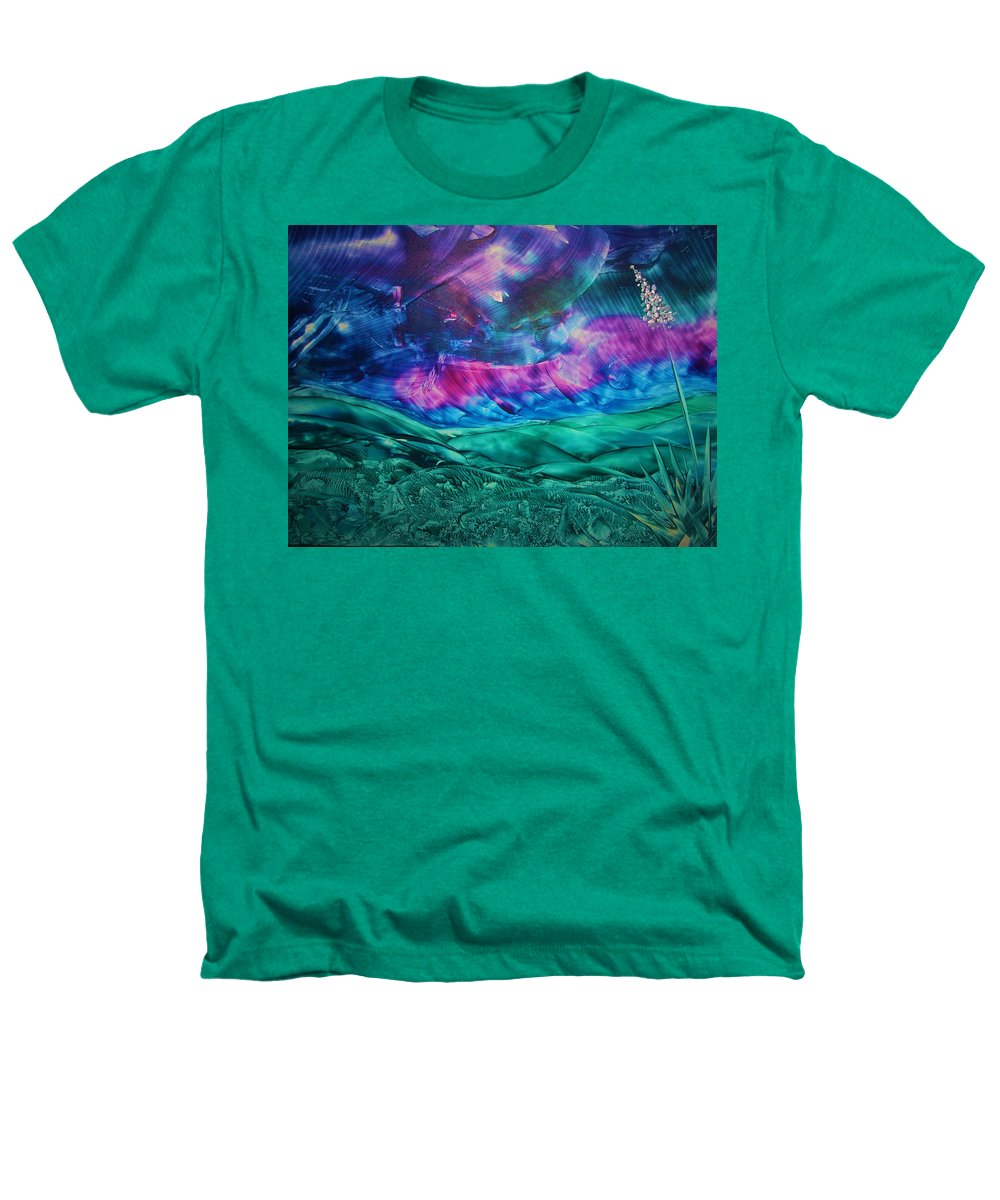 Desert Heathers T-Shirt featuring the print Sierra Vista by Melinda Etzold