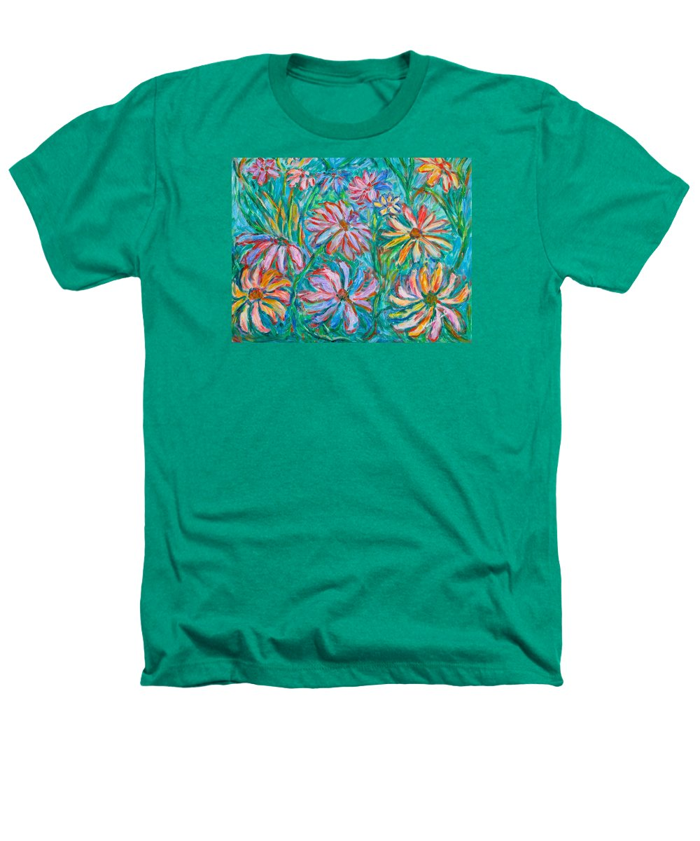 Impressionist Heathers T-Shirt featuring the painting Swirling Color by Kendall Kessler