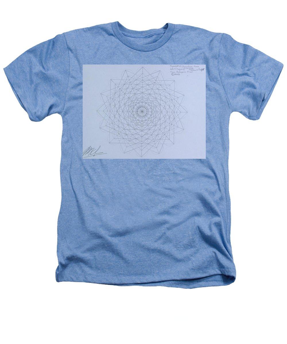 Jason Heathers T-Shirt featuring the drawing Quantum Foam by Jason Padgett