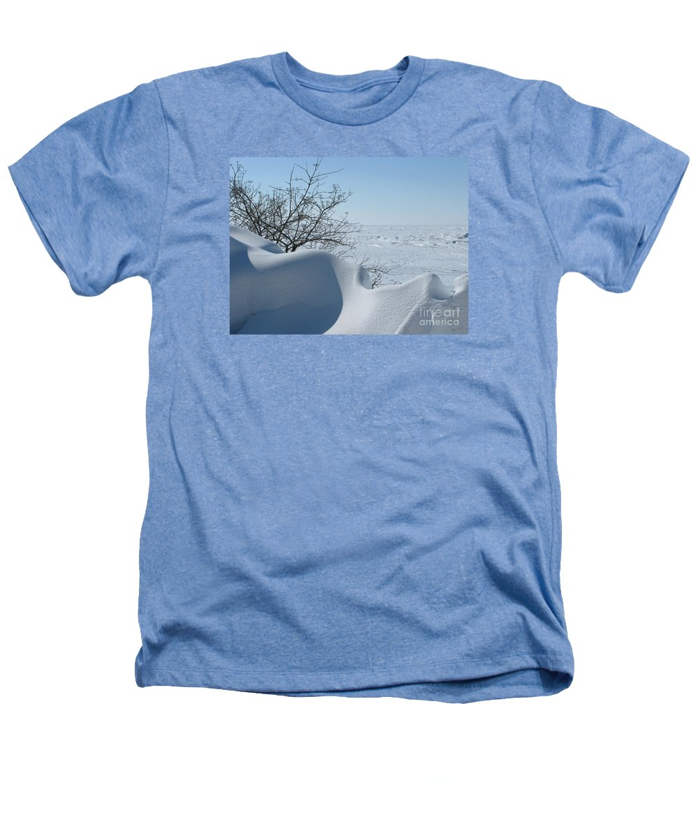 Winter Heathers T-Shirt featuring the photograph A Gentle Beauty by Ann Horn