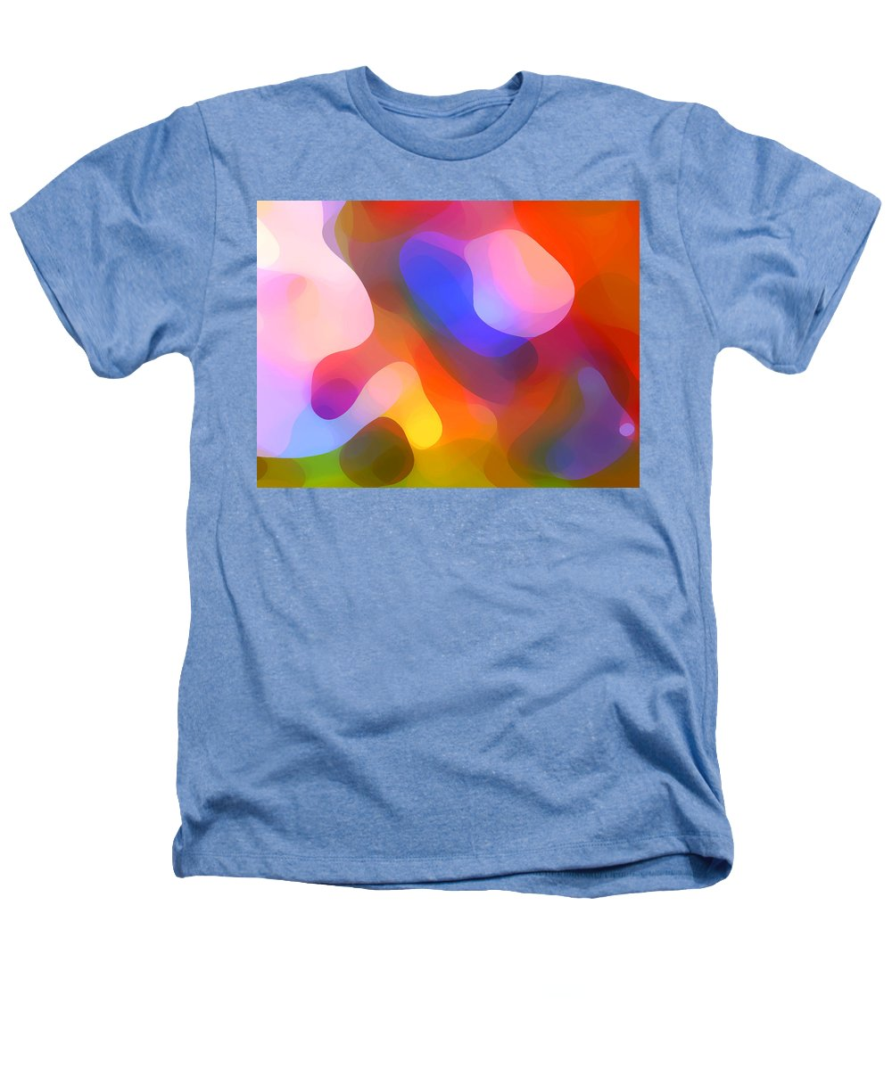 Abstract Art Heathers T-Shirt featuring the painting Abstract Dappled Sunlight by Amy Vangsgard