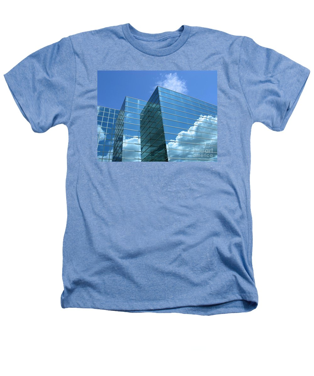Building Heathers T-Shirt featuring the photograph Cloud Mirror by Ann Horn
