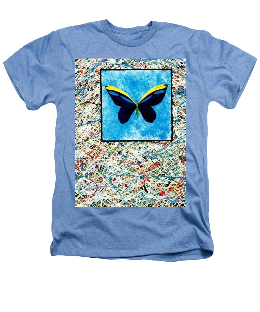 Abstract Heathers T-Shirt featuring the painting Imperfect II by Micah Guenther
