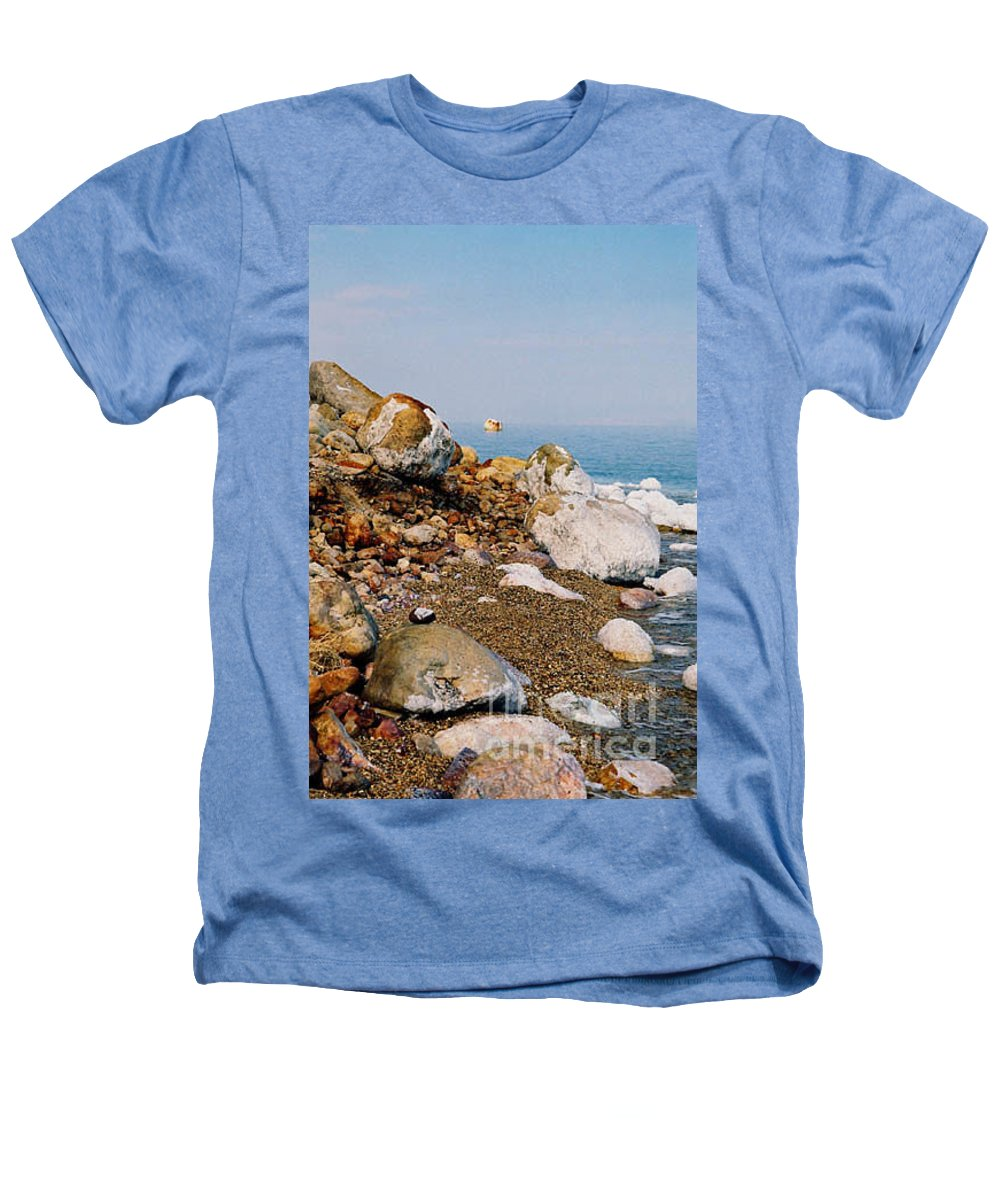 Dead Sea Heathers T-Shirt featuring the photograph Lot's Wife by Kathy McClure