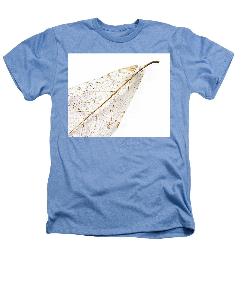 Leaf Heathers T-Shirt featuring the photograph Remnant Leaf by Ann Horn
