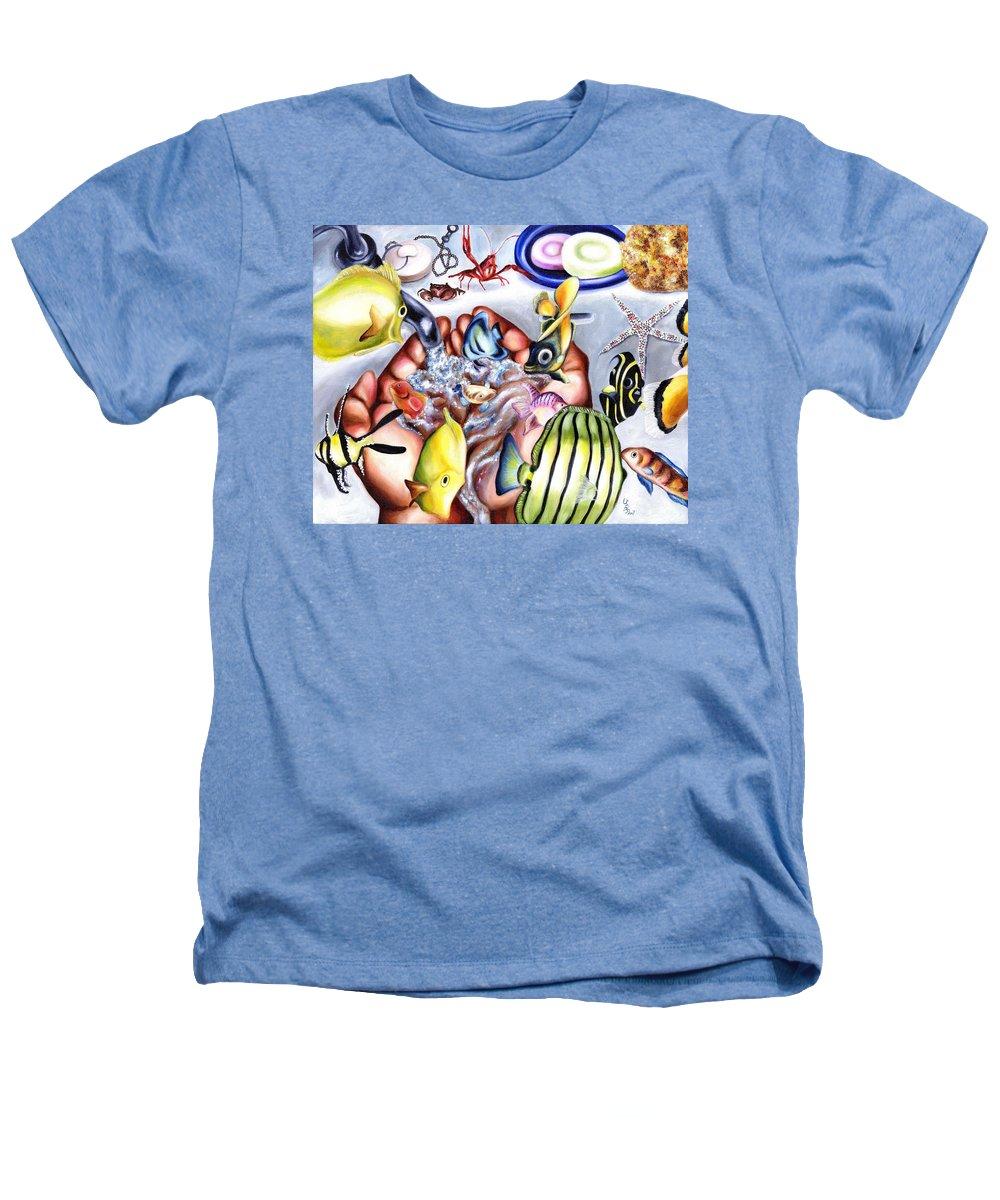 Dream Heathers T-Shirt featuring the painting Still Drunk by Hiroko Sakai