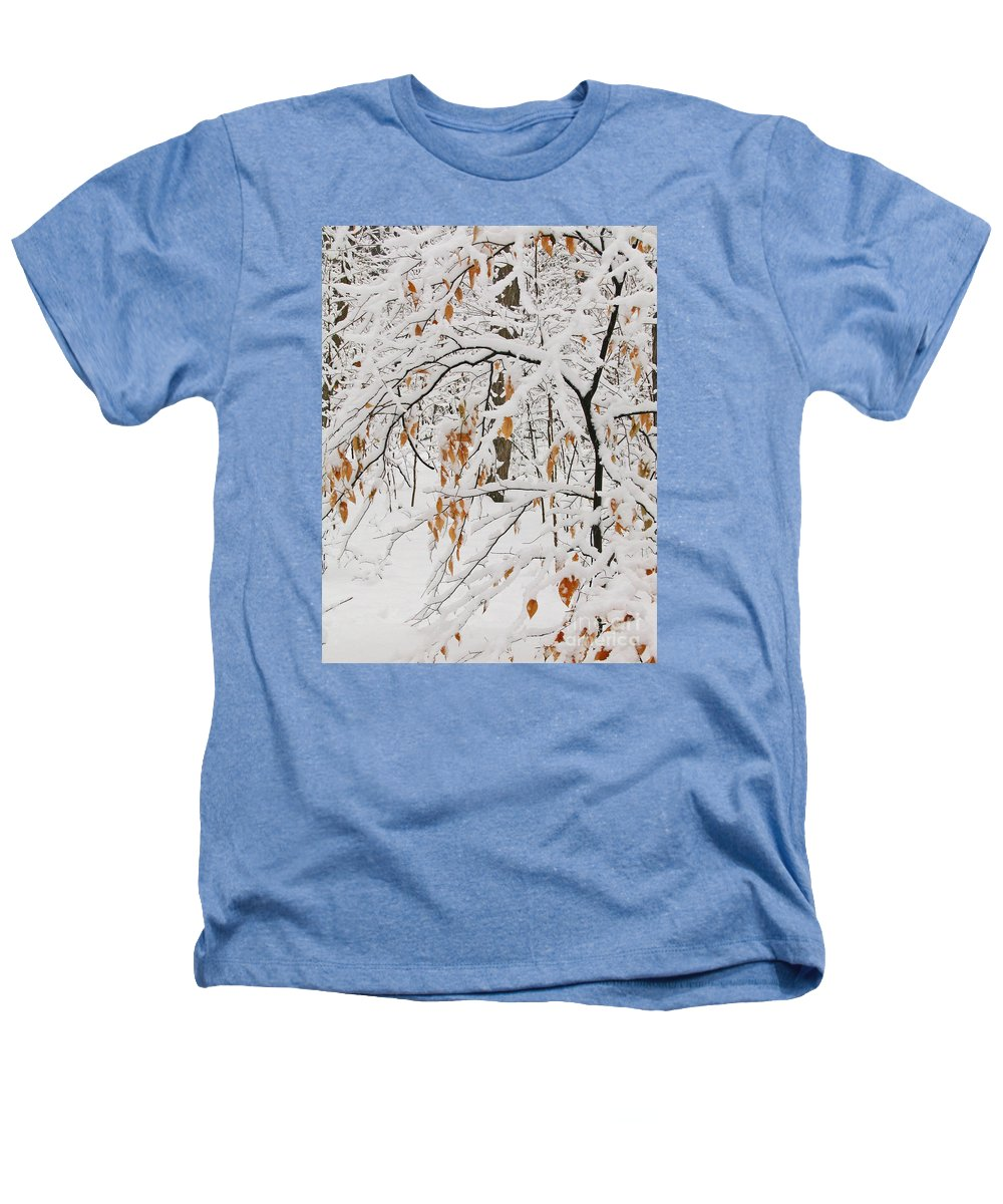 Winter Heathers T-Shirt featuring the photograph Winter Branches by Ann Horn
