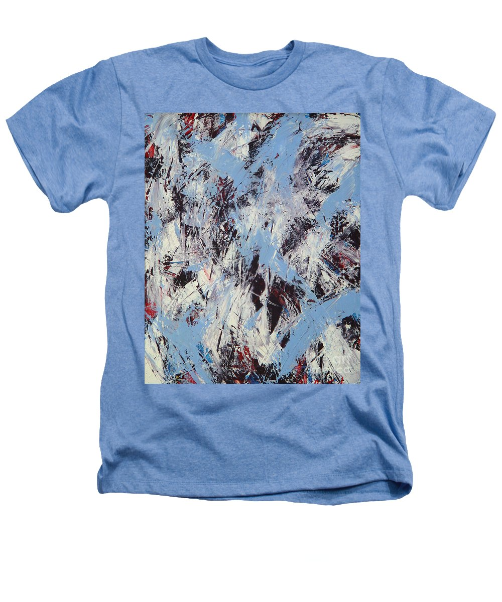 Abstract Heathers T-Shirt featuring the painting Winter by Dean Triolo