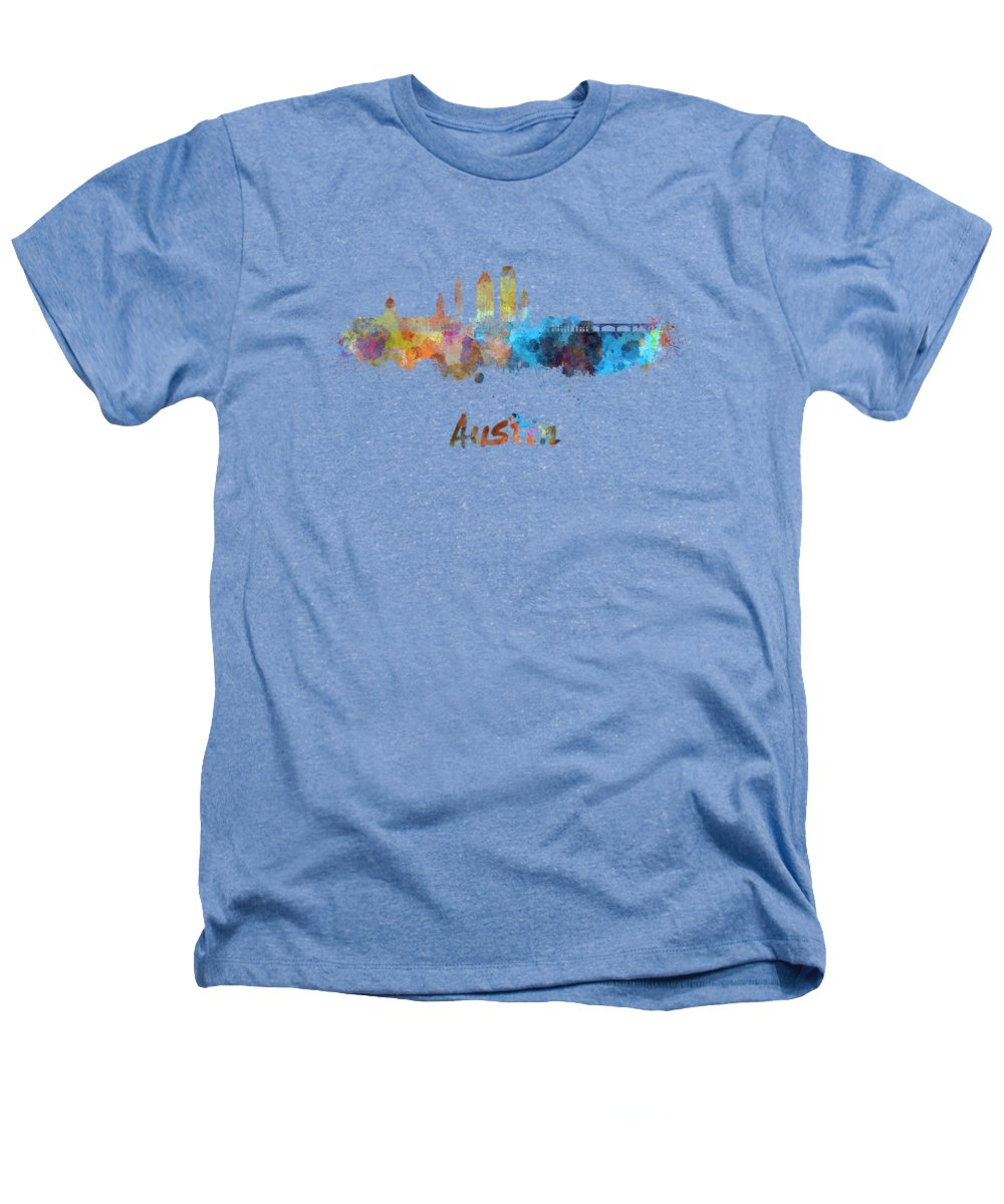 Austin Skyline Heathers T-Shirts