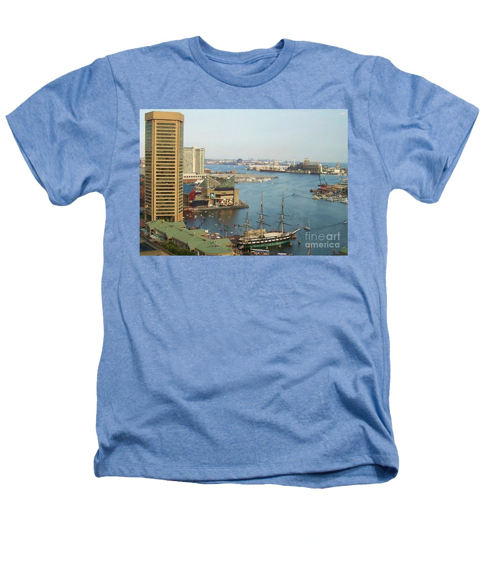 Baltimore Heathers T-Shirt featuring the photograph Baltimore by Debbi Granruth