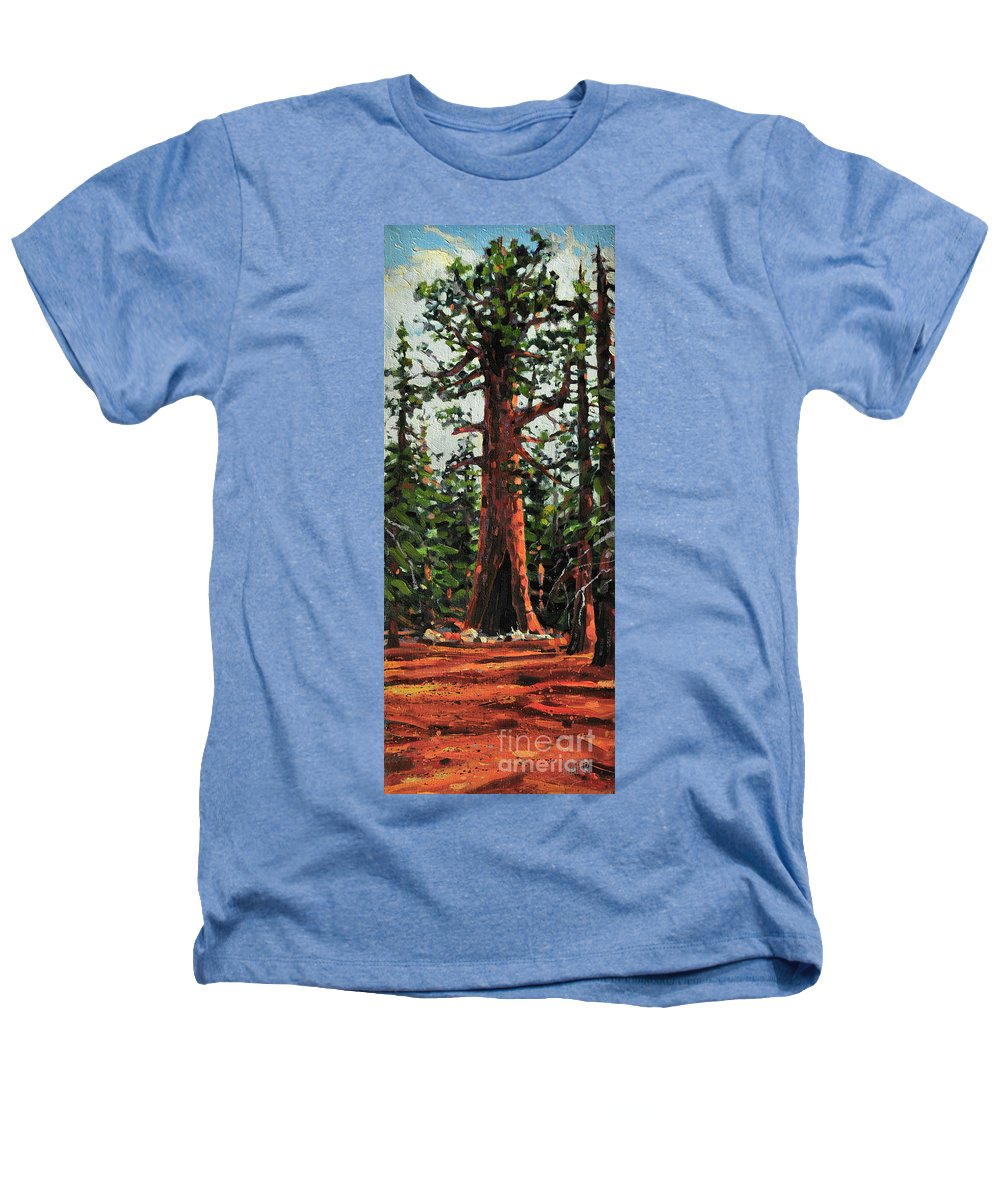 General Sherman Heathers T-Shirt featuring the painting General Sherman by Donald Maier