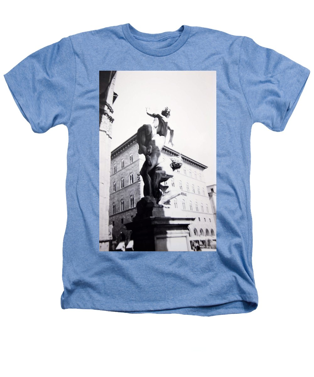 Florence Heathers T-Shirt featuring the photograph Palazzo Vecchio by Kurt Hausmann
