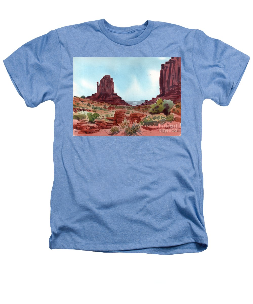 Right Mitten Heathers T-Shirt featuring the painting Right Mitten by Donald Maier