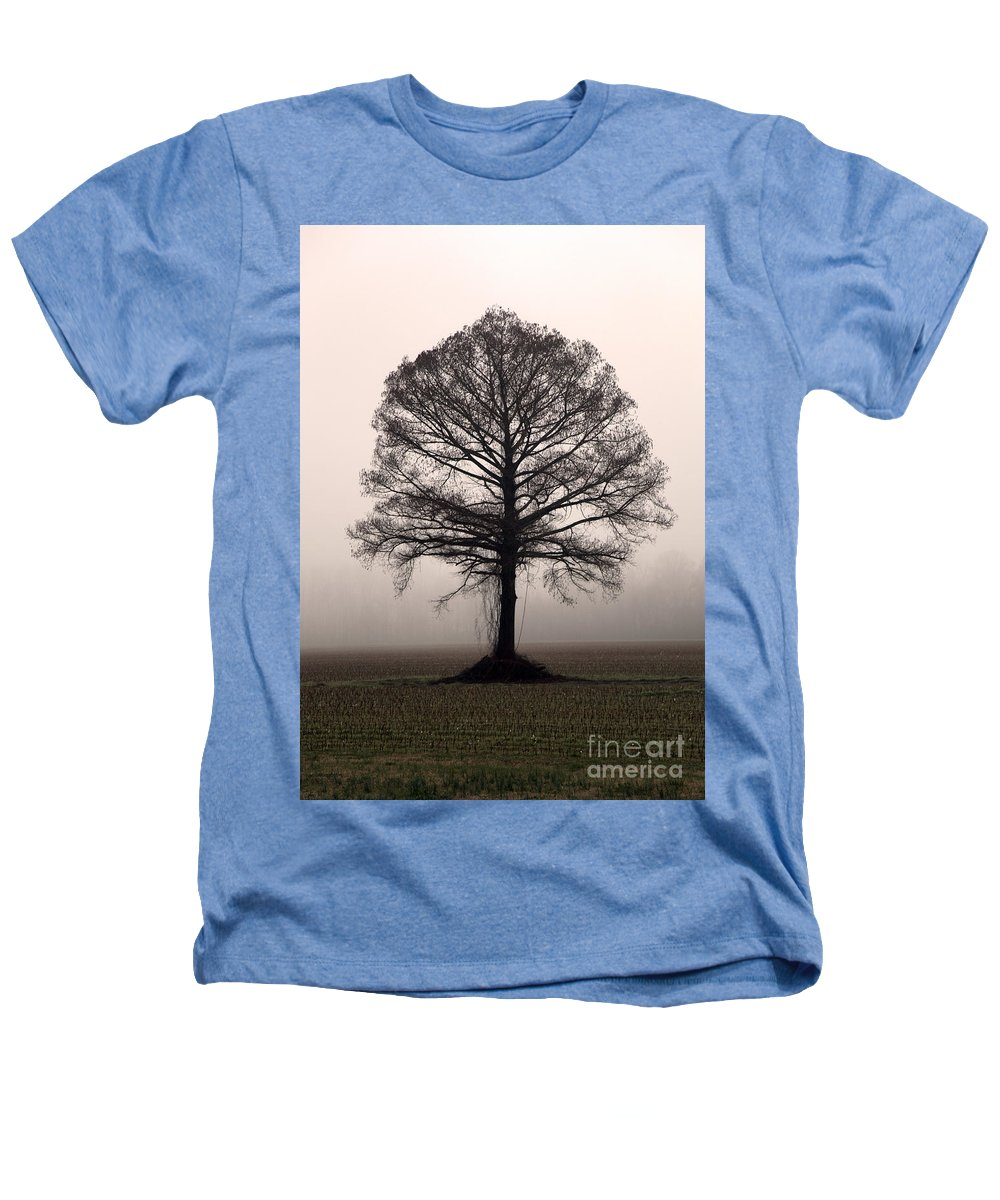 Trees Heathers T-Shirt featuring the photograph The Tree by Amanda Barcon