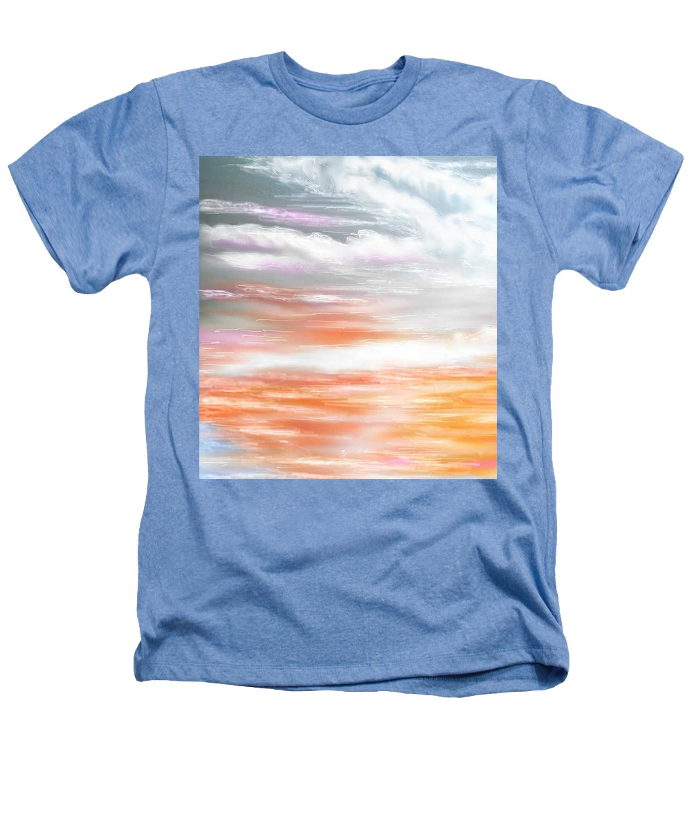 Inspirational Art Heathers T-Shirt featuring the digital art A Light Unto My Path by Brenda L Spencer