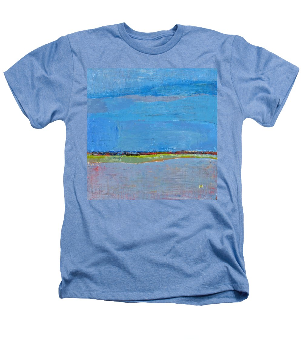 Heathers T-Shirt featuring the painting Abstract Landscape1 by Habib Ayat