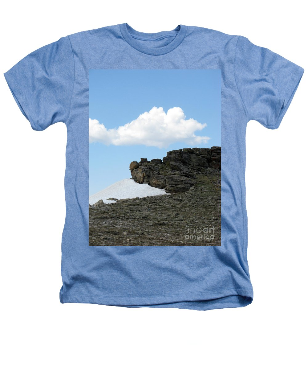 Rocky Mountains Heathers T-Shirt featuring the photograph Alpine Tundra - Up In The Clouds by Amanda Barcon