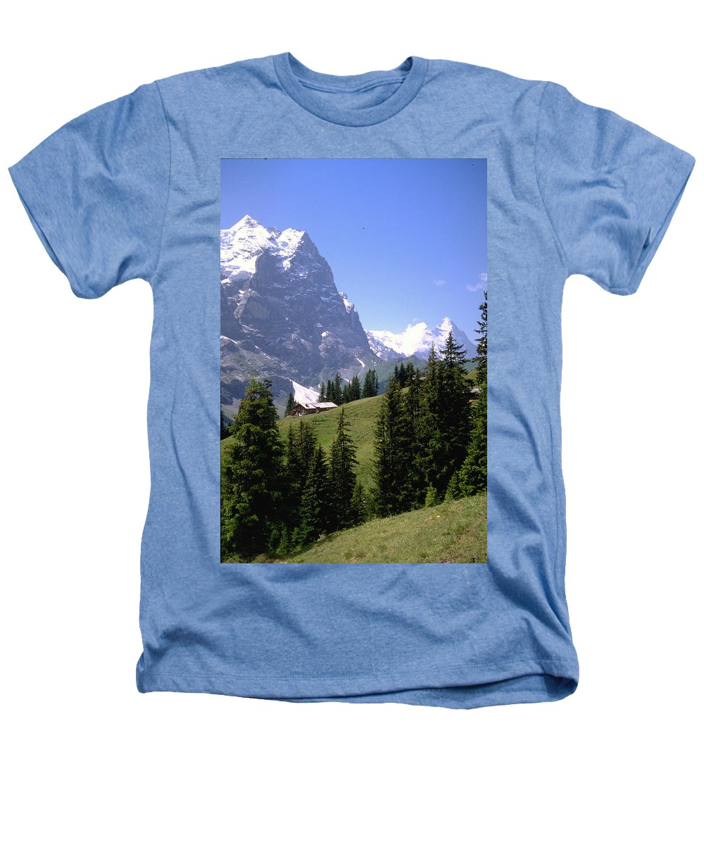 Alps Heathers T-Shirt featuring the photograph Alps by Flavia Westerwelle