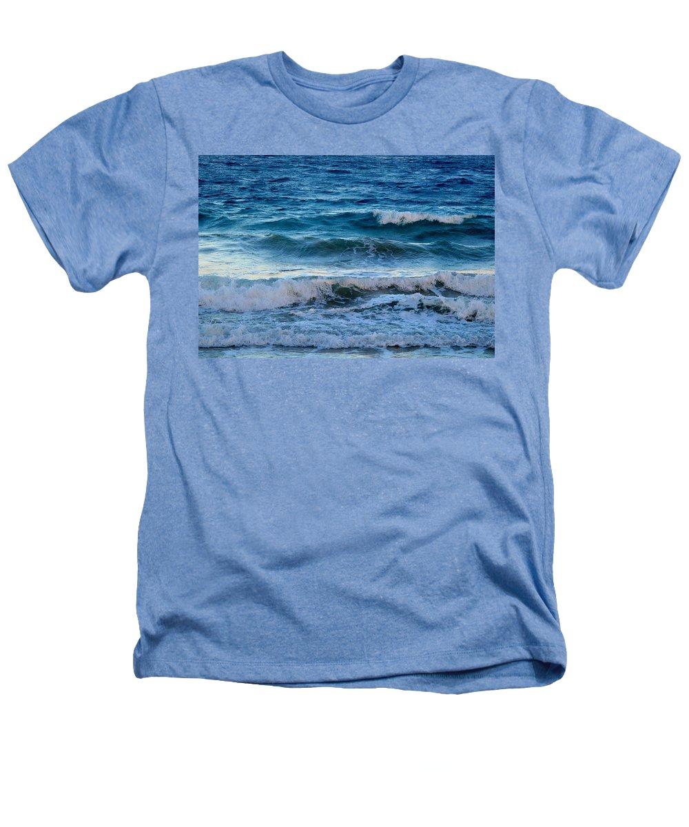 Sea Heathers T-Shirt featuring the photograph An Unforgiving Sea by Ian MacDonald