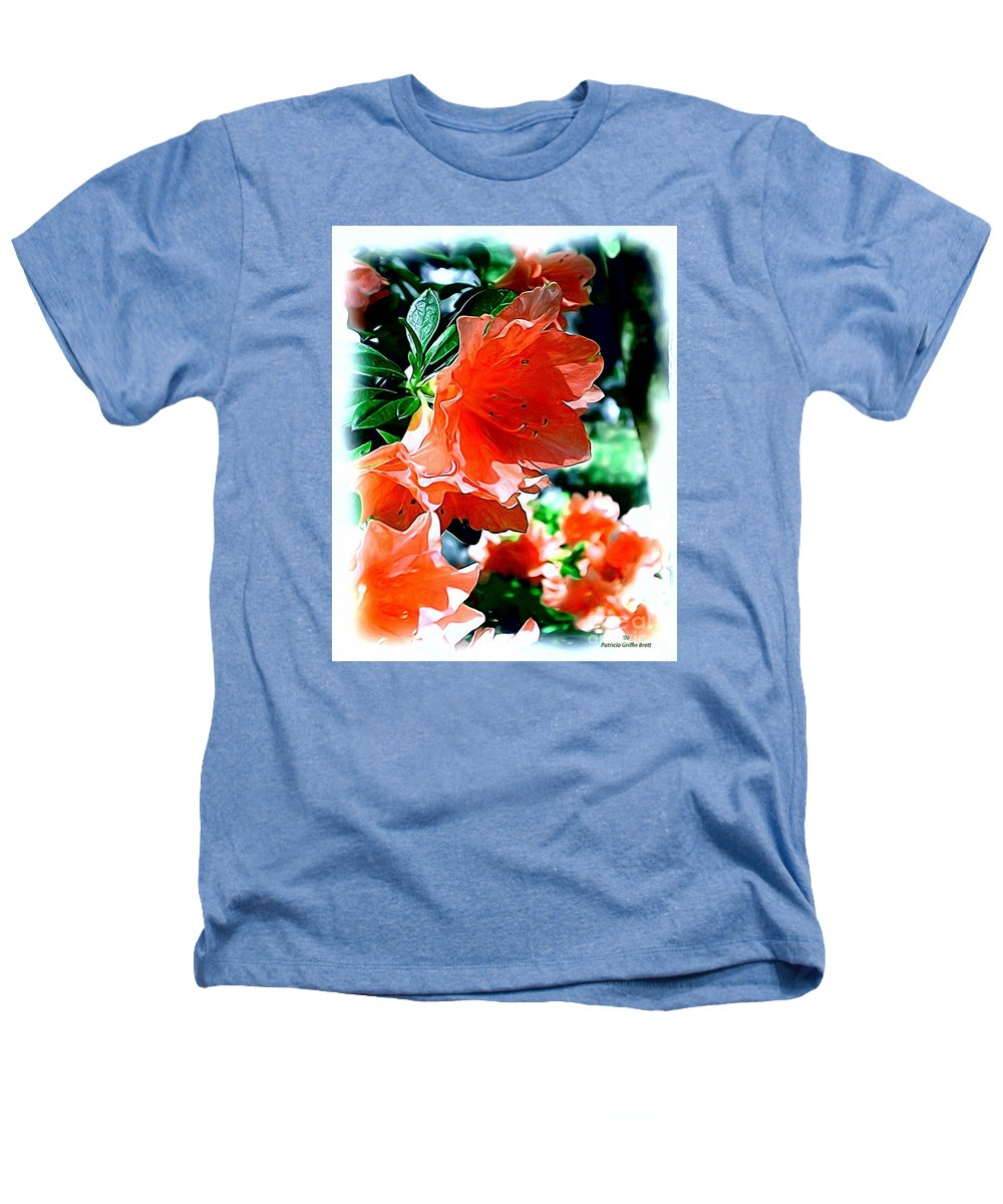 Fine Art Heathers T-Shirt featuring the painting Azaleas In The Spring by Patricia Griffin Brett