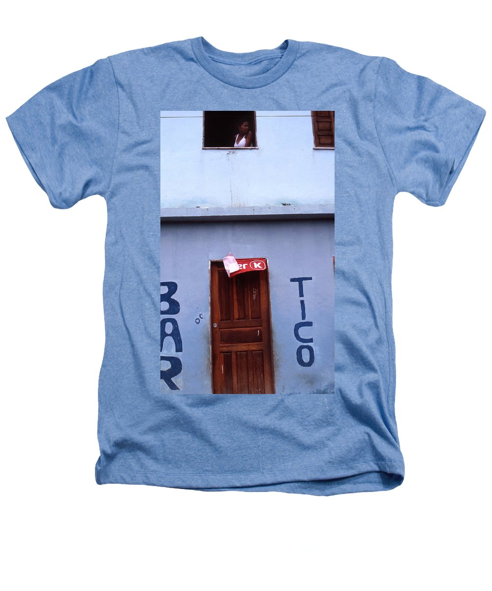 Lencois Heathers T-Shirt featuring the photograph Bar Tico by Patrick Klauss