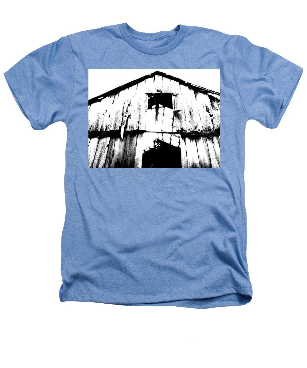 Barn Heathers T-Shirt featuring the photograph Barn by Amanda Barcon