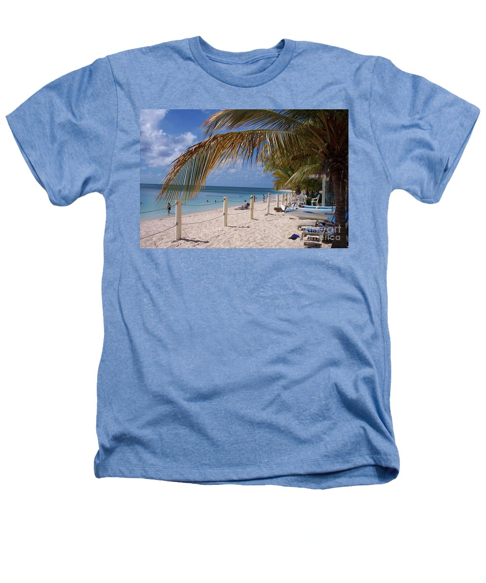 Beach Heathers T-Shirt featuring the photograph Beach Grand Turk by Debbi Granruth