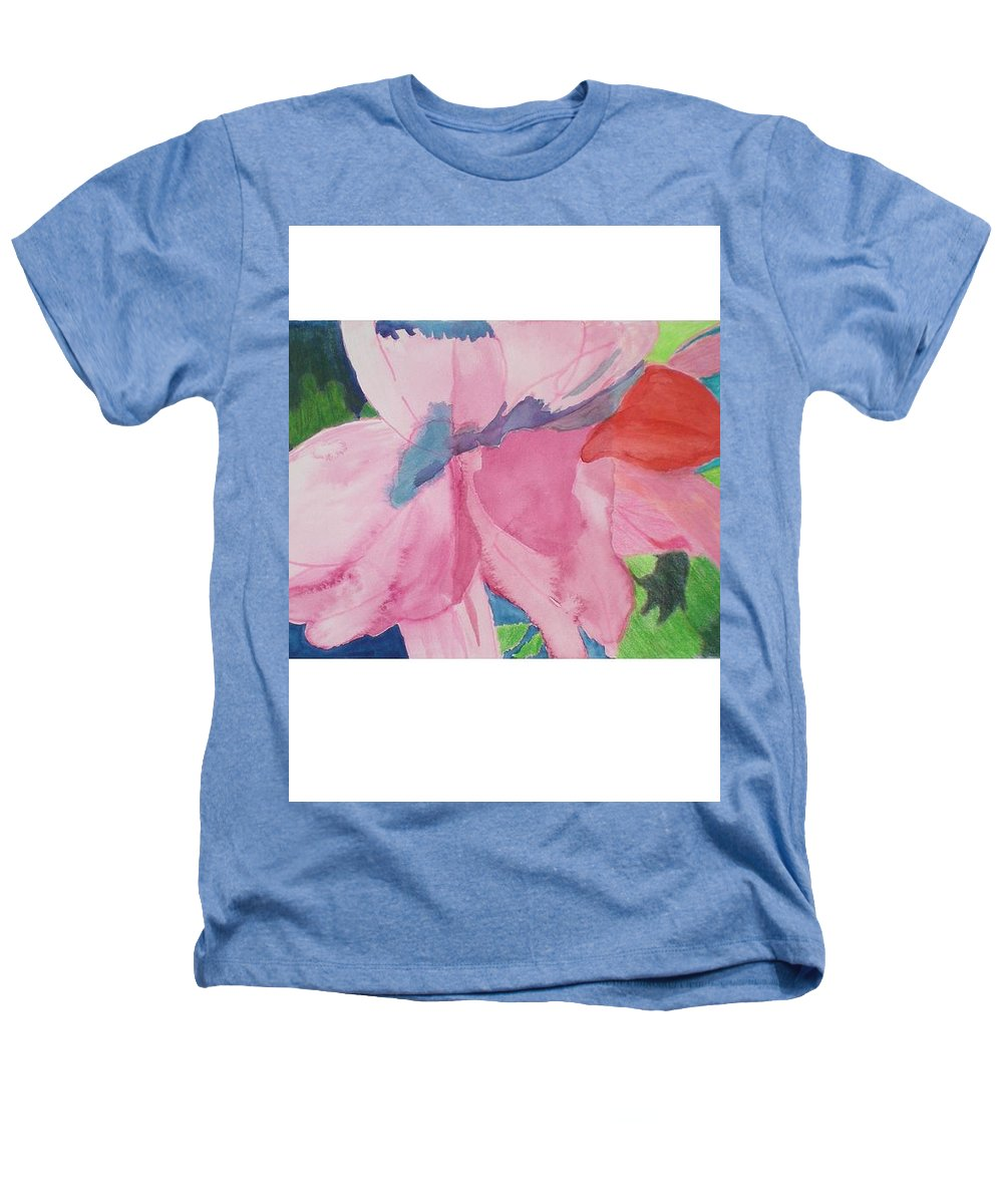 Flower Heathers T-Shirt featuring the painting Beautiful Azalea by Hal Newhouser