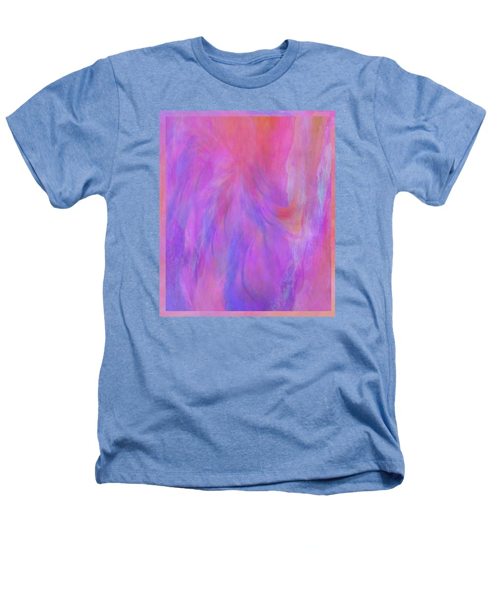 Digital Art Heathers T-Shirt featuring the digital art Blossom by Linda Murphy