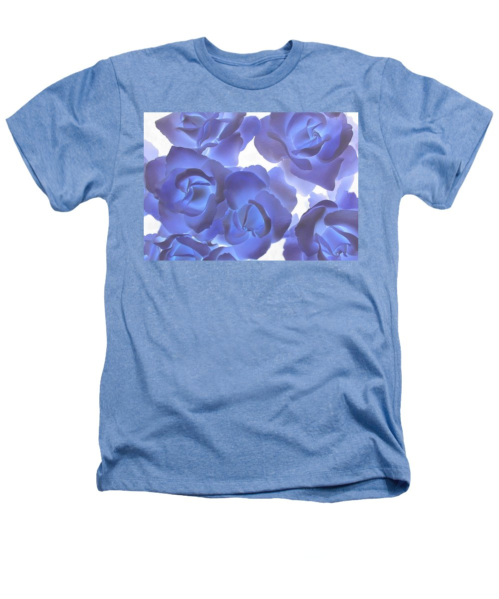Blue Heathers T-Shirt featuring the photograph Blue Roses by Tom Reynen
