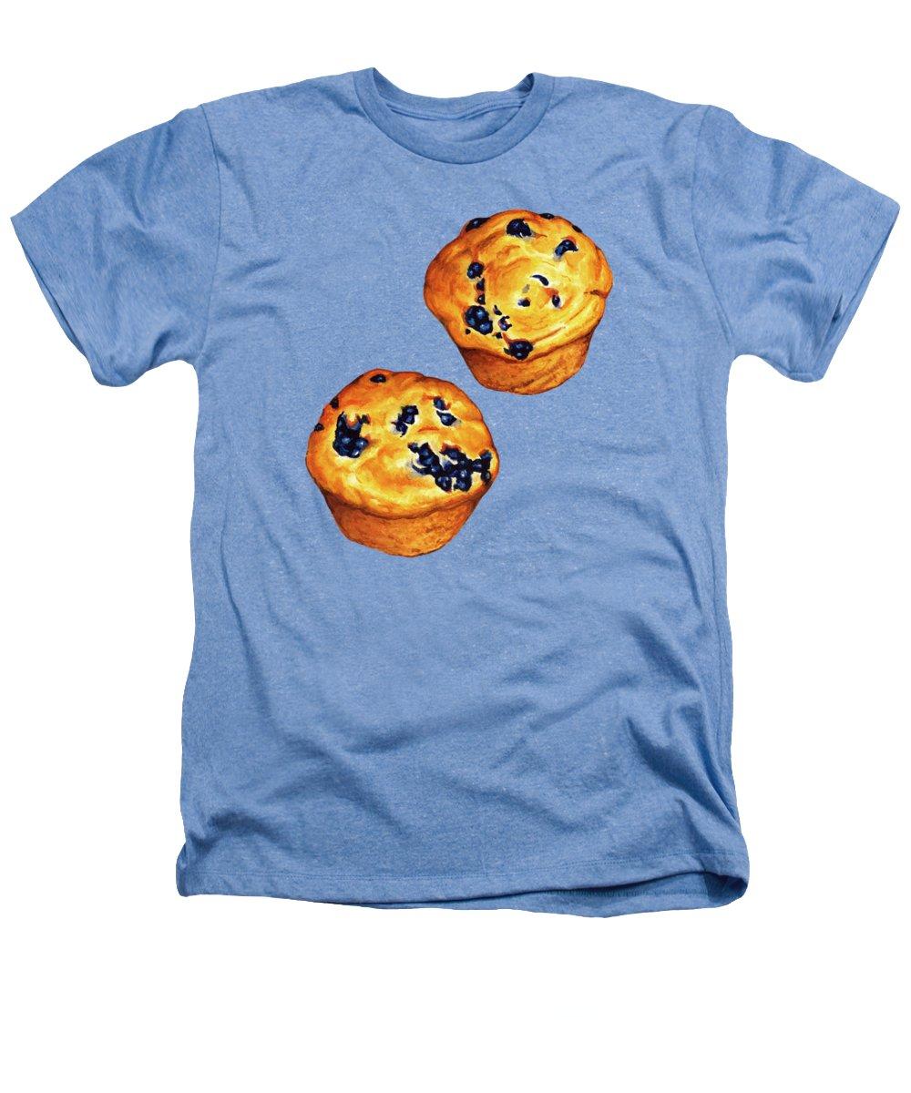 Blueberry Heathers T-Shirts
