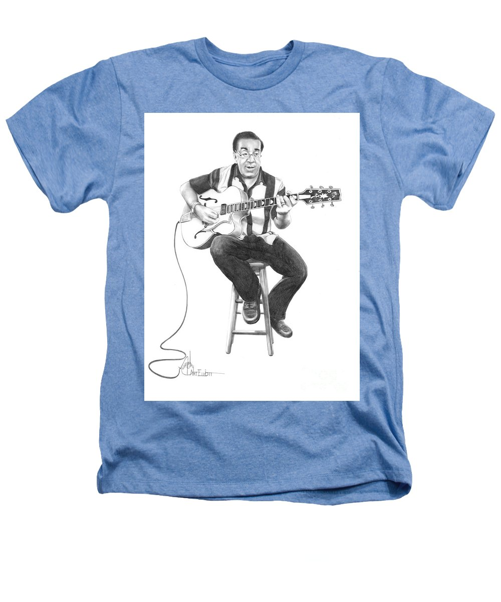 Drawing Heathers T-Shirt featuring the drawing Carmine D'amico by Murphy Elliott