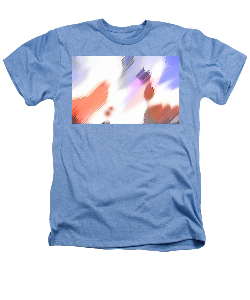 Digital Art Water Color Watercolor Light Color Heathers T-Shirt featuring the painting Celebration by Anil Nene