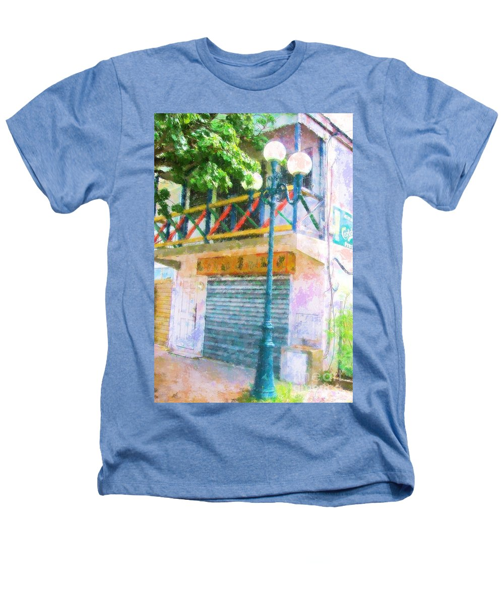 St. Martin Heathers T-Shirt featuring the photograph Cest La Vie by Debbi Granruth