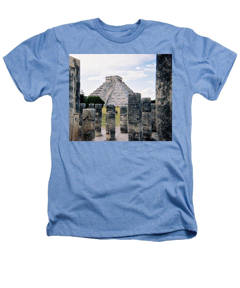 Chitchen Itza Heathers T-Shirt featuring the photograph Chichen Itza 3 by Anita Burgermeister