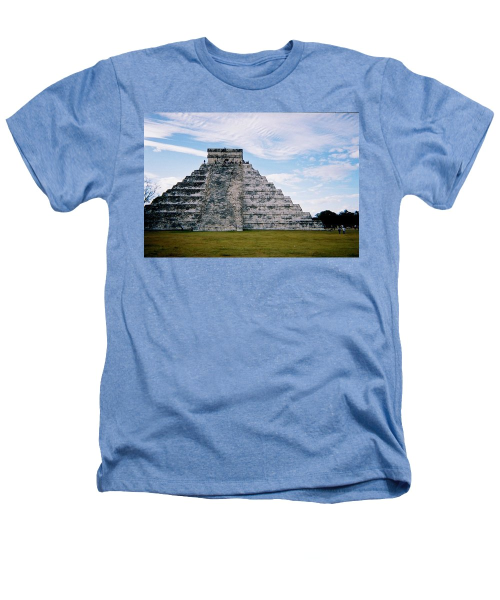 Chitchen Itza Heathers T-Shirt featuring the photograph Chichen Itza 4 by Anita Burgermeister