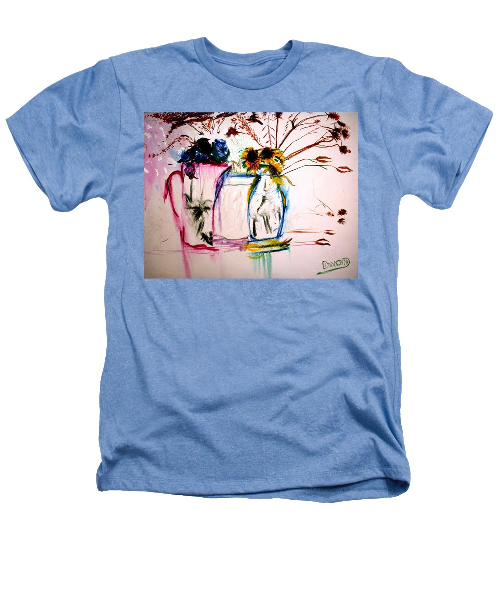 Still Life Heathers T-Shirt featuring the painting Clear by Jack Diamond