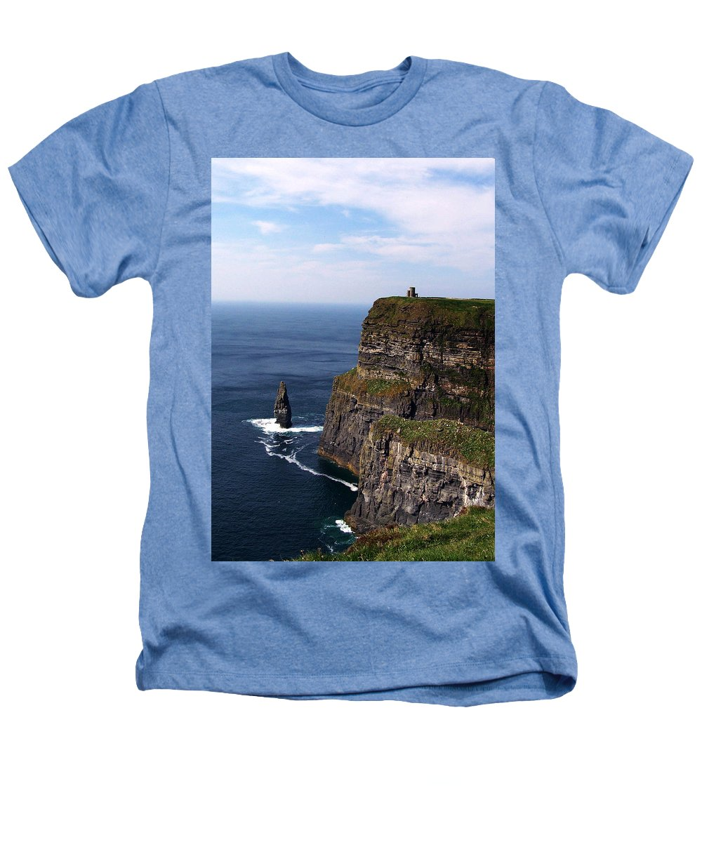 Irish Heathers T-Shirt featuring the photograph Cliffs Of Moher County Clare Ireland by Teresa Mucha