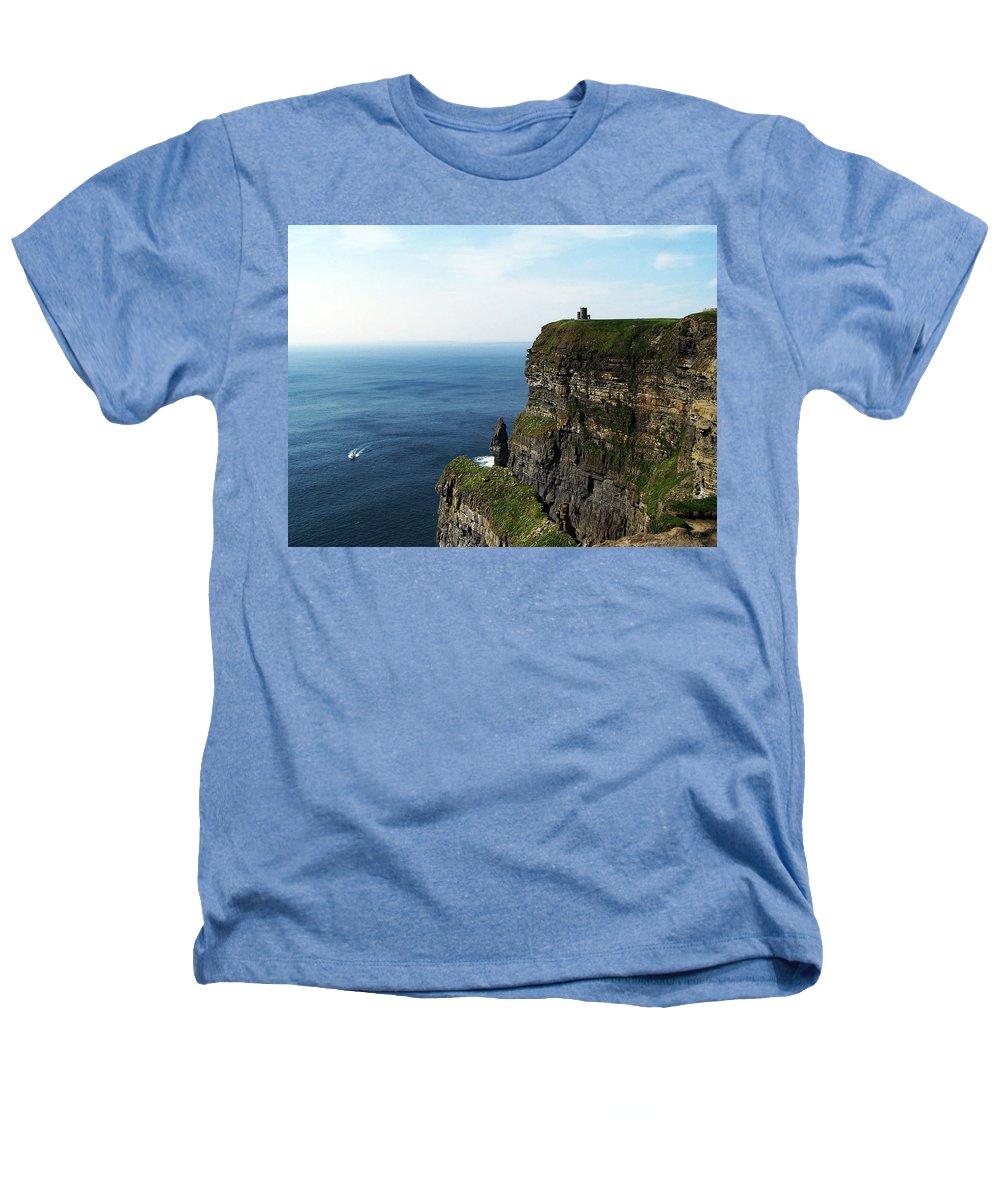 Irish Heathers T-Shirt featuring the photograph Cliffs Of Moher Ireland by Teresa Mucha