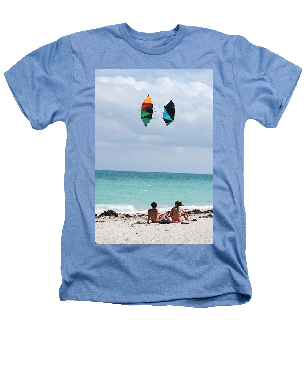 Sea Scape Heathers T-Shirt featuring the photograph Close Encounters by Rob Hans