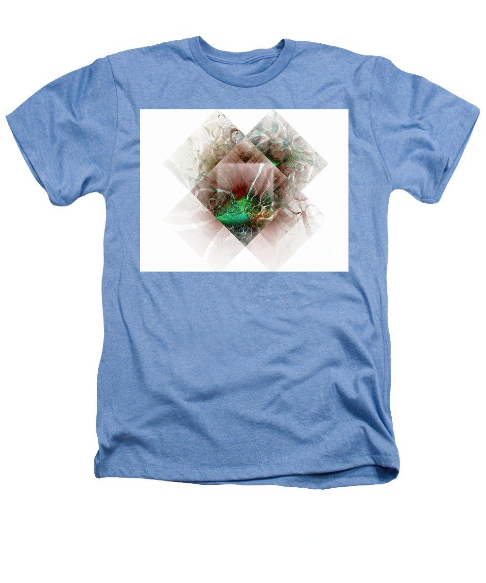Digital Art Heathers T-Shirt featuring the digital art Coastal Memoirs by Amanda Moore