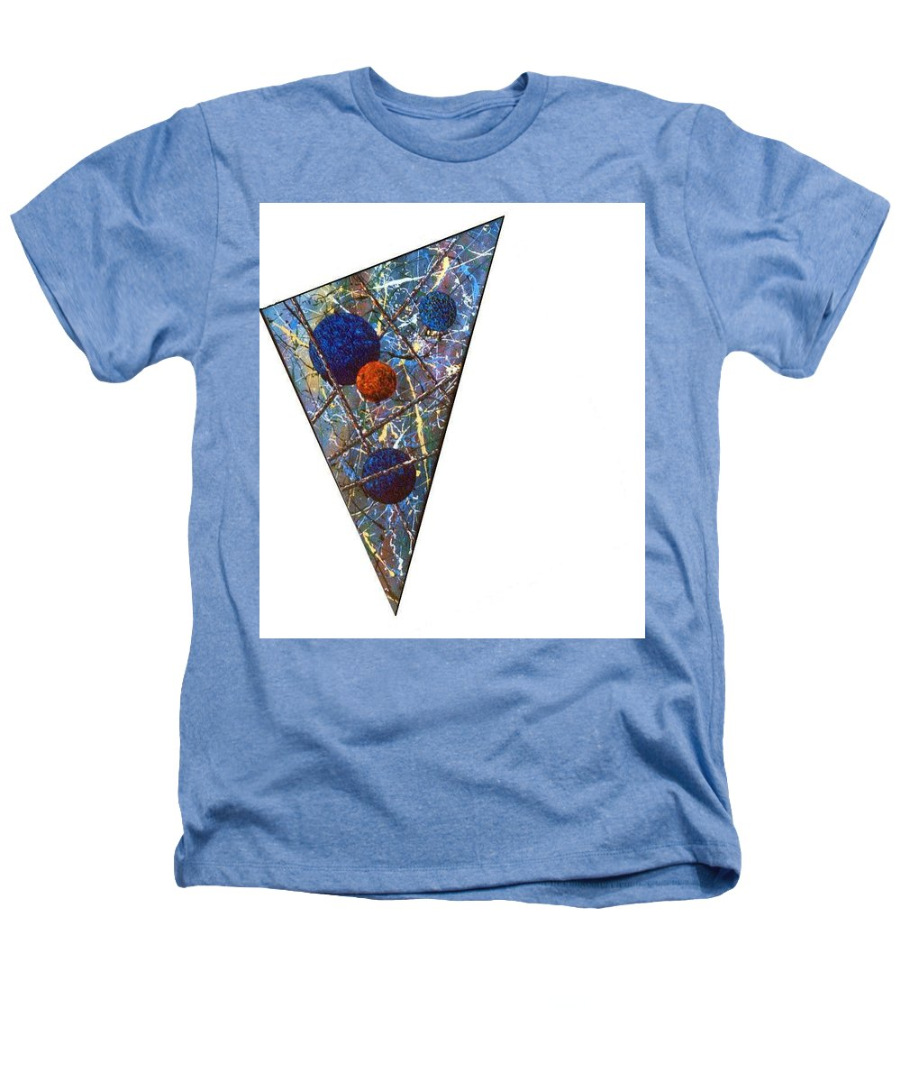 Abstract Heathers T-Shirt featuring the painting Continuum 3 by Micah Guenther