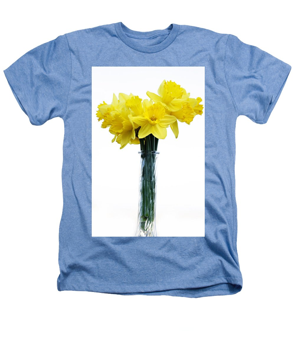 Daffodil Heathers T-Shirt featuring the photograph Daffodil by Marilyn Hunt