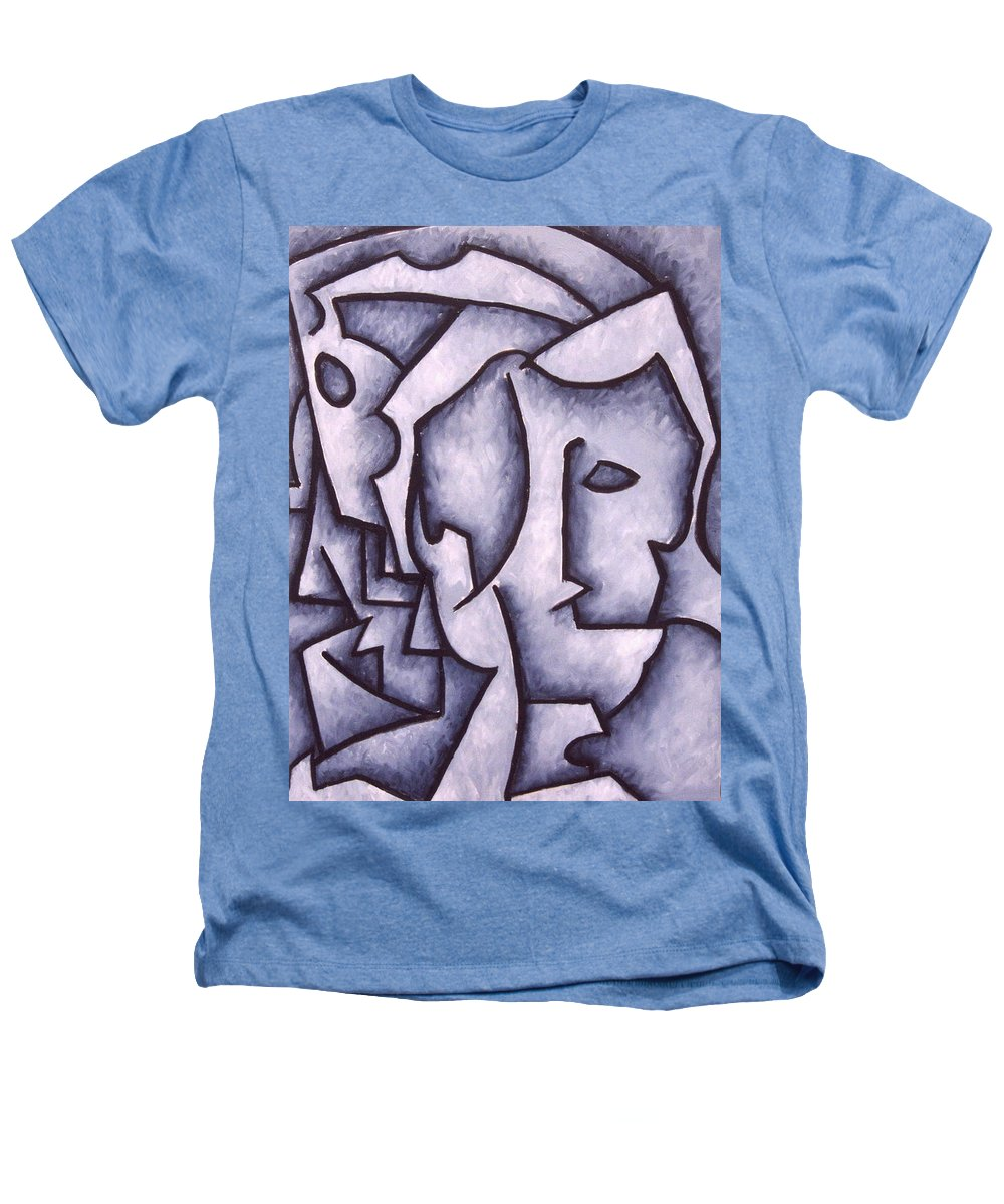Abstract Heathers T-Shirt featuring the painting David by Thomas Valentine