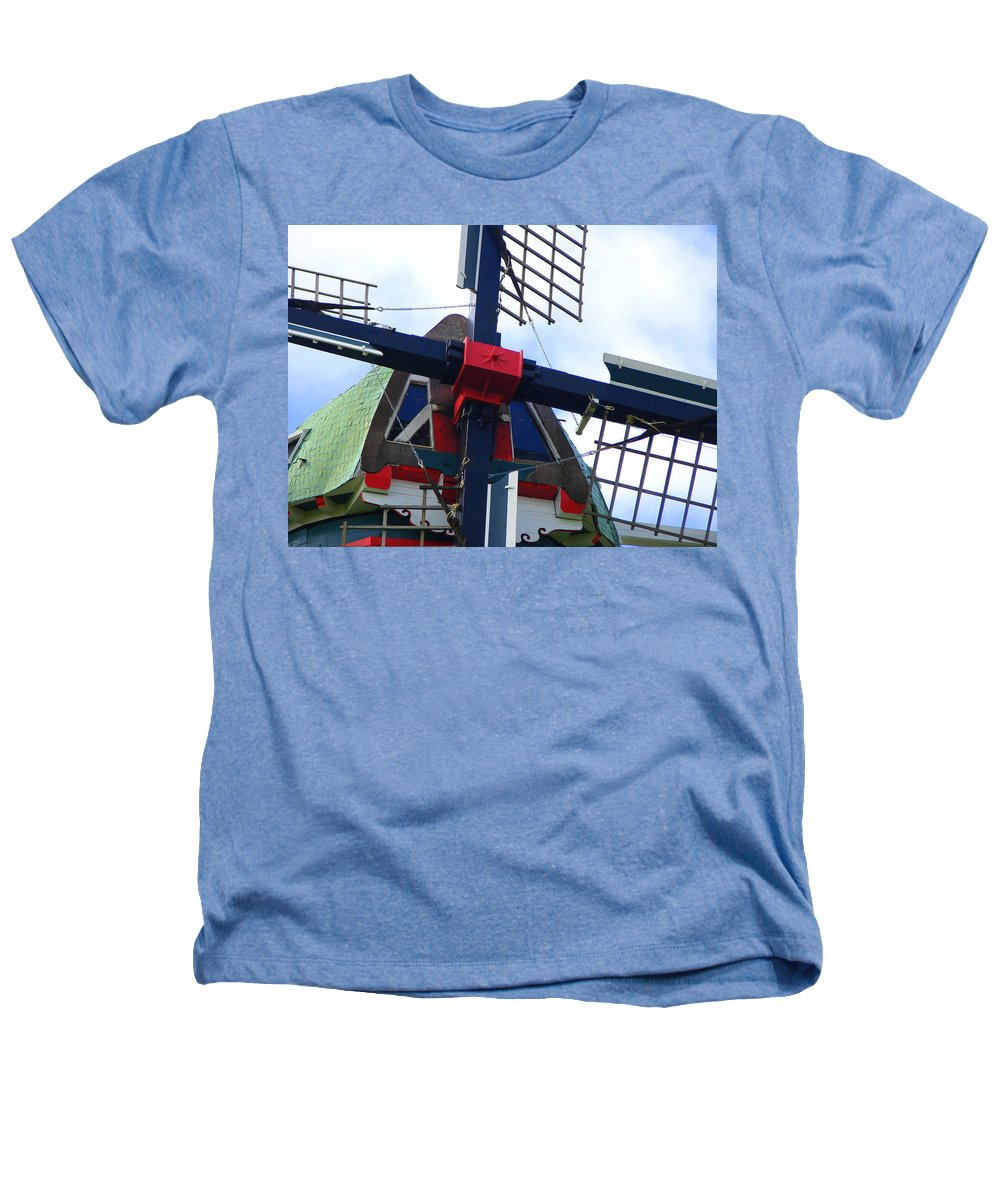 Dezwaan Heathers T-Shirt featuring the photograph Dezwaan Windmill Holland Michigan by Michelle Calkins